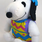 Snoopy in Easter Egg Costume Plush