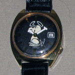 Snoopy dancing Watch