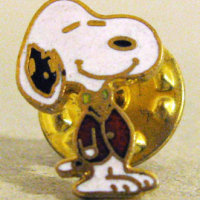 Snoopy dressed in suit Lapel Pin