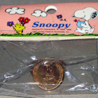Snoopy with lunch bag resizable Ring