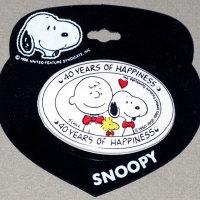 Peanuts 40th Anniversary Logo Hair Clip