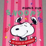 Snoopy 40th Anniversary Bubble Gum