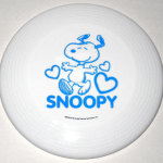 Snoopy dancing with hearts Frisbee Disc Dog Toy