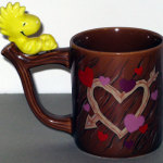 Woodstock on wood-style Planter Mug