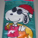Joe Cool Santa with sack Mini Flag