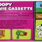 Snoopy Movie Cassette – Blockhead's Bobble