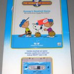 Snoopy's Baseball Game Book and Tape