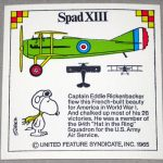 Snoopy and Spad XIII Airplane Sticker