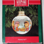 Peanuts Nativity Ornament