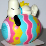 Snoopy on Easter Egg Bank - Teal