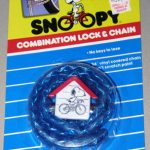 Snoopy Combination Lock & Chain – Blue