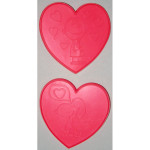 Snoopy and Charlie Brown Valentine's Day Cookie Cutters