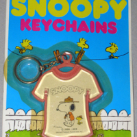 Beaglescout Snoopy & Woodstock T-shirt Keychain