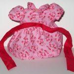 "Belle Pink Dress for 10"" Plush"