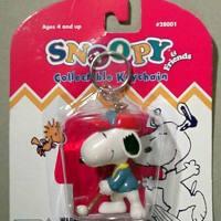 Snoopy Golfer Keychain