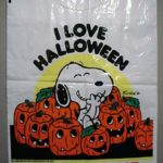 """I Love Halloween"" Snoopy Trick or Treat Bag"