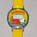 Snoopy and Woodstock painting Doghouse Digital Kids Watch