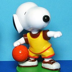 Peanuts Basketball Collectibles