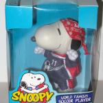 Snoopy World Famous Soccer Player Doll