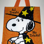 Snoopy as Witch Treat Bag