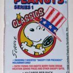 Peanuts Classics Series 1 Trading Cards