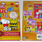 Peanuts Valentines with Stickers