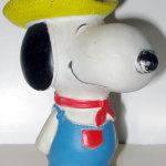 Farmer Snoopy Squeaky Toy