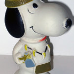 Native American Snoopy Squeaky Toy