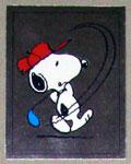 Snoopy golfing Sticker – #182