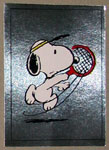 Snoopy playing tennis Sticker – #191