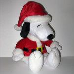 Santa Snoopy Christmas Plush Toy