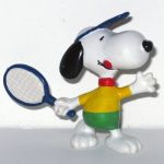 Tennis Snoopy PVC Figurine