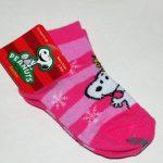 Snoopy & Woodstock Striped Christmas Socks
