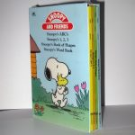 Snoopy & Friends Set of 4 Learning Books