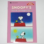 Snoopy's Book of Opposites
