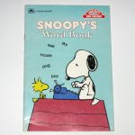 Snoopy's Word Book