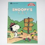 Snoopy's 1, 2, 3 Book