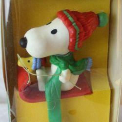 Snoopy & Woodstock Hallmark Stocking Holder