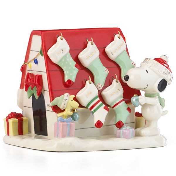 Christmas Decorating With Peanuts Amp Lenox