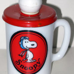 Snoopy Flying Ace Avon Shaving Mug