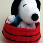 Snoopy in Dogdish Plush Toy