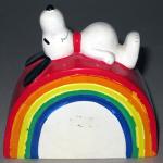 Snoopy on Rainbow Bank