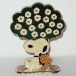 Snoopy and Woodstock Earring Tree