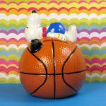 Snoopy on Basketball Bank