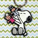 Snoopy Pawpets Keychain