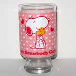Snoopy & Woodstock Hugging Glass Vase