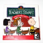 Peanuts Gang Teacher Stamps