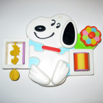 Snoopy Baby Funtime crib toy