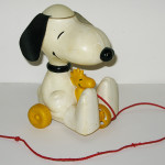 Snoopy & Woodstock Copter Pull Toy