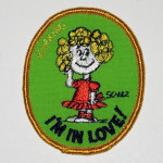 Frieda 'I'm in Love' Embroidered Patch